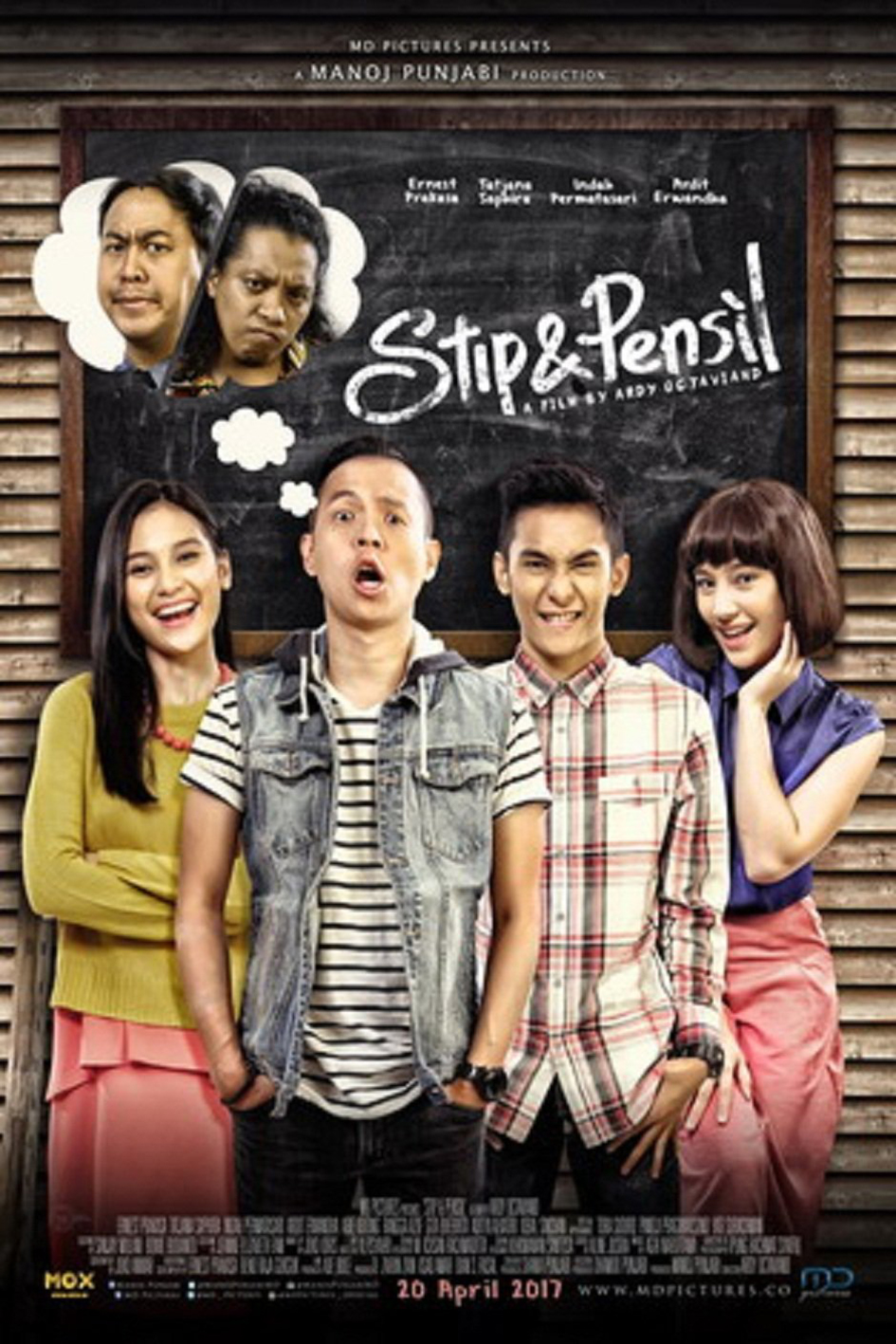 Stip & Pensil [2017 Indonesia Movie] Comedy
