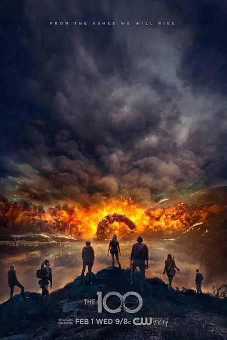 The 100 SEASON 4 Completed [2014 – Current USA Series] Drama, Mystery, Sci Fi