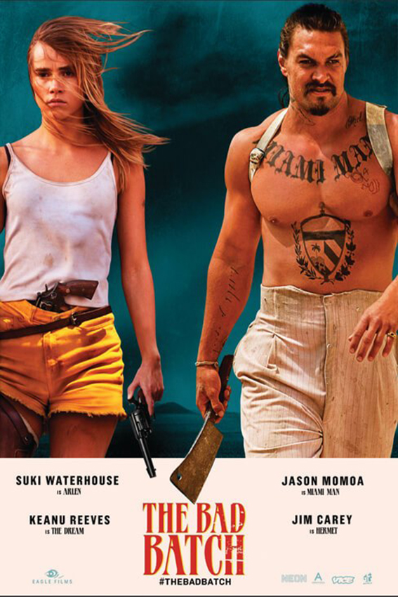 The Bad Batch [2017 USA Movie] Romance, Sci Fi