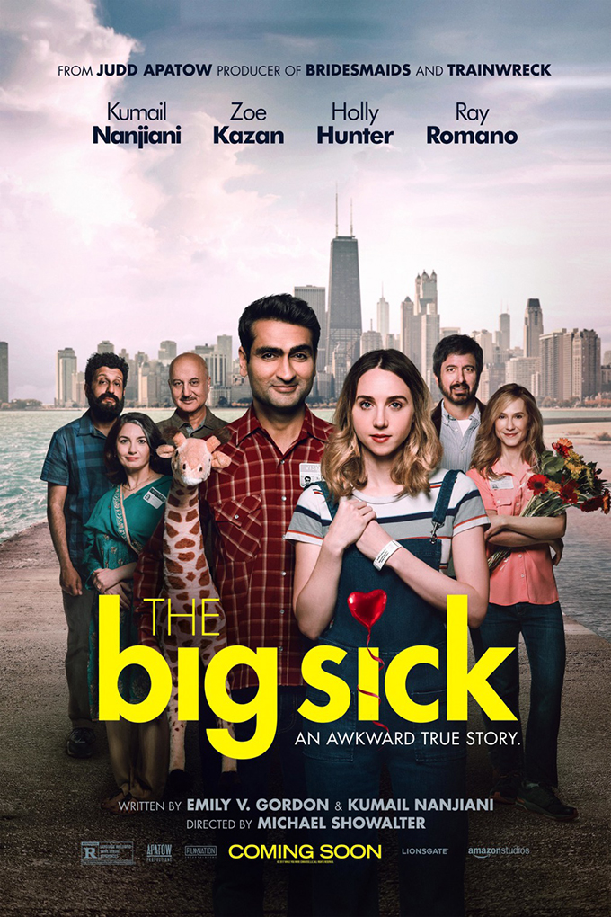 The Big Sick [2017 USA Movie] Comedy, Romance, True Story
