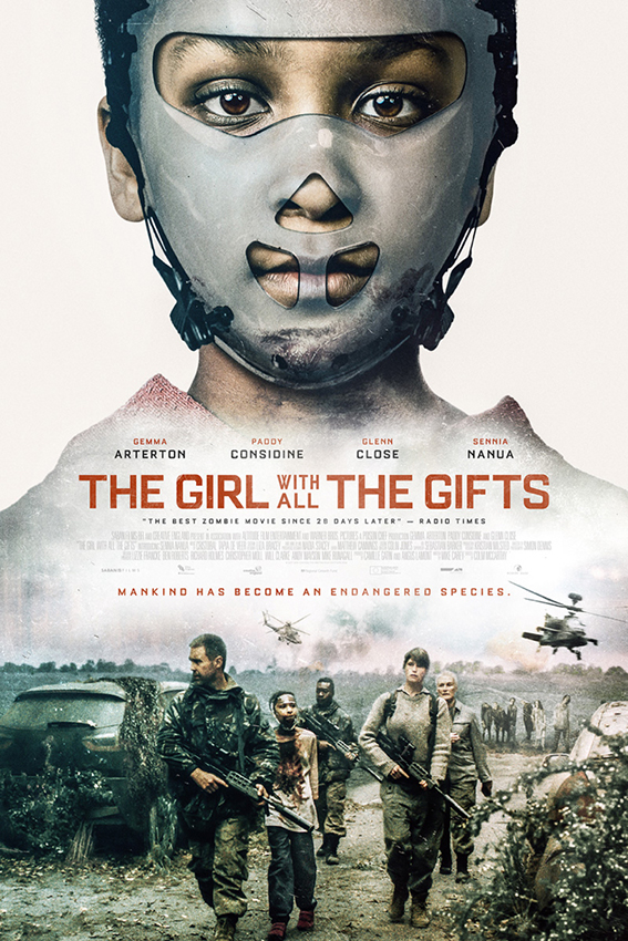 The Girl With All The Gifts [2016 USA Movie] Drama, Horror, Thriller
