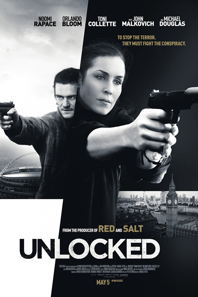 Unlocked [2017 USA, Czech Republic, Switzerland & UK Movie] Action, Drama, Mystery, Thriller
