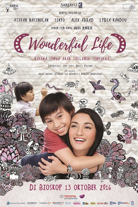 Wonderful Life [2016 Indonesia Movie] Drama, Romance