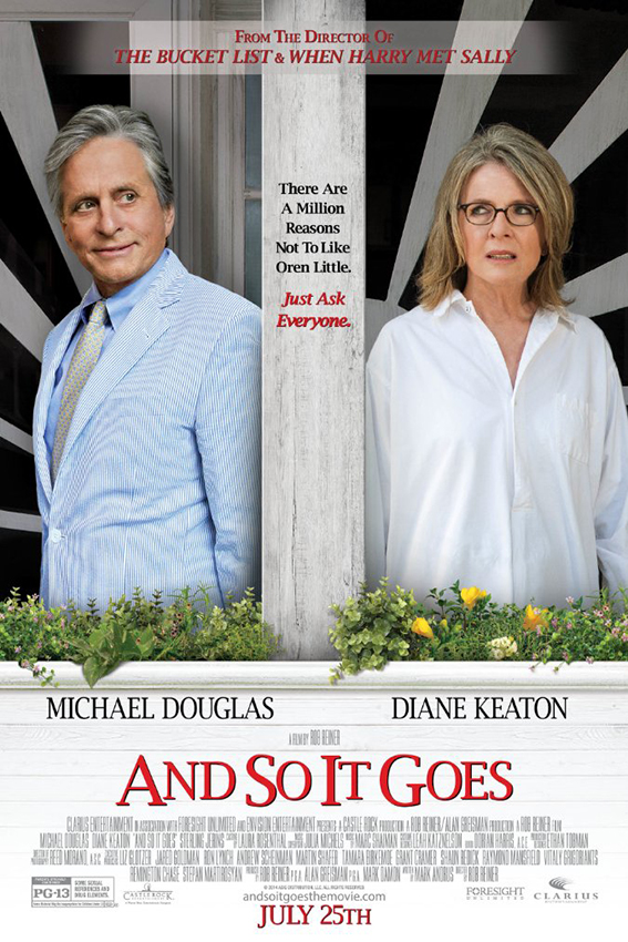 And So It Goes [2014 USA Movie] Comedy, Drama, Romance