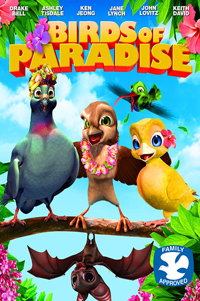 Birds of Paradise [2014 USA & Argentina Movie] Animation, Family