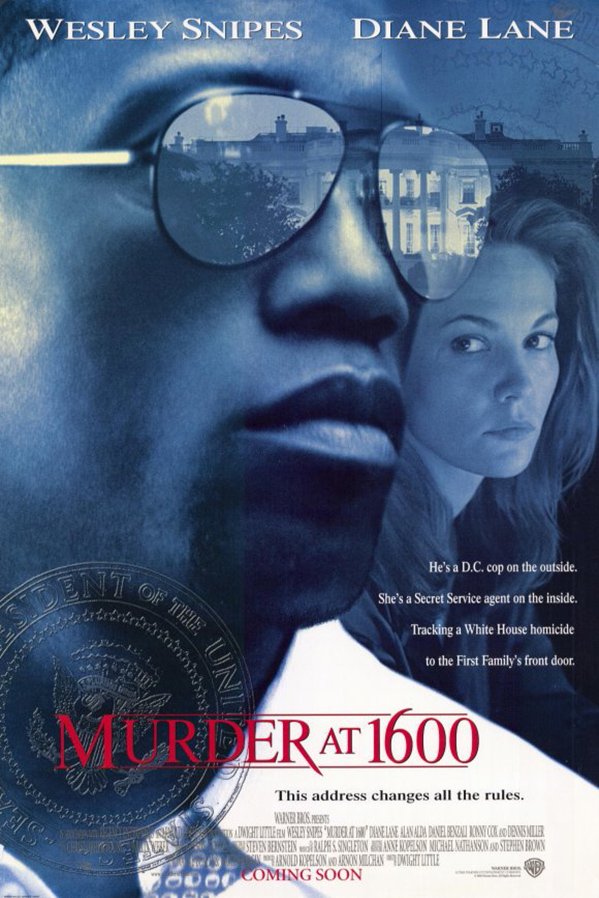 Murder at 1600 [1997 USA Movie] Action, Crime, Drama