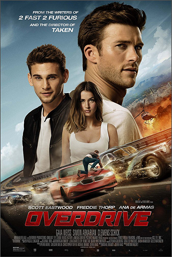 Overdrive [2017 France, Belgium & USA Movie] Action, Racing