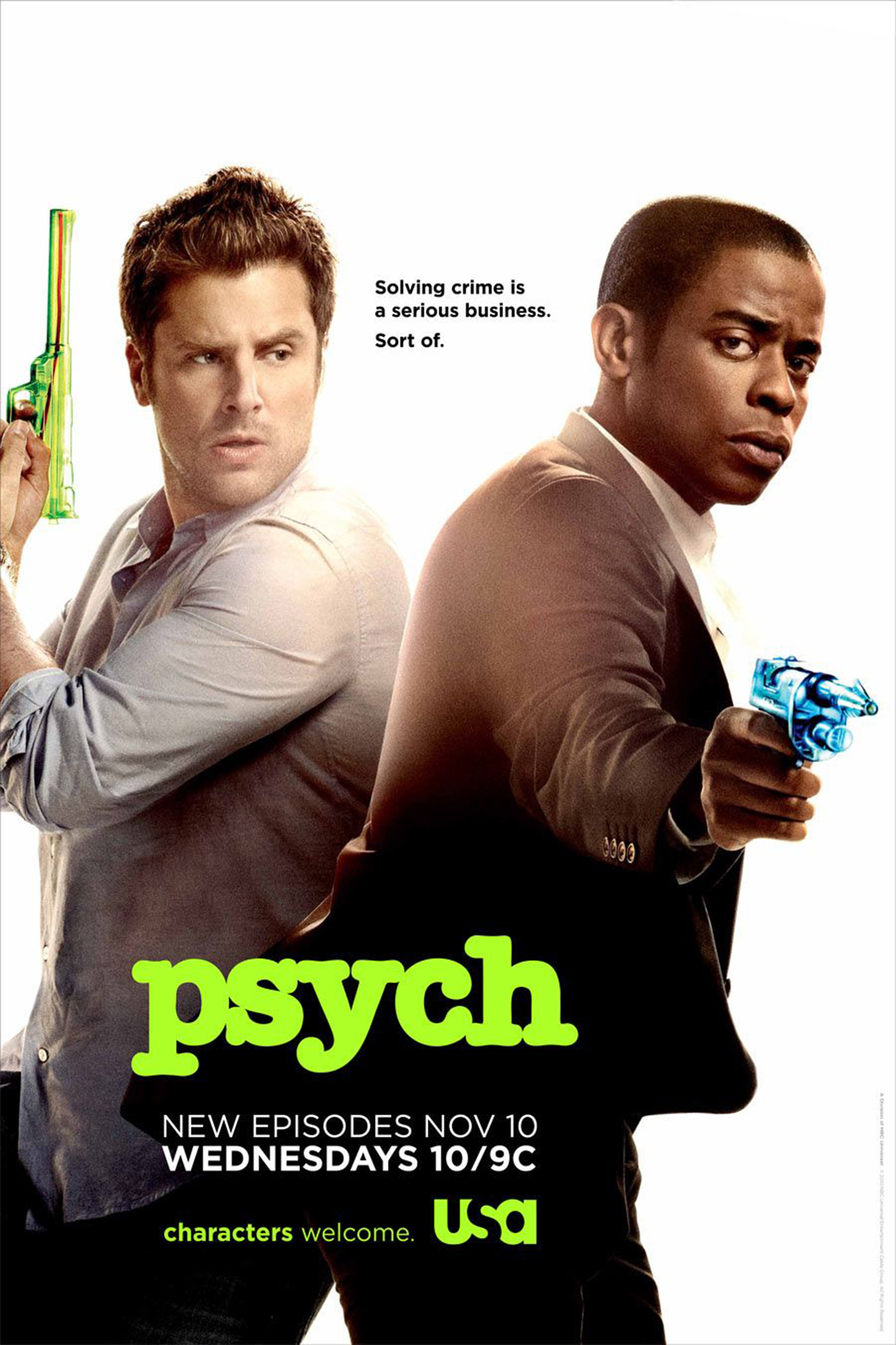 Psych SEASON 8 Completed (Final Season) [2006 – 2014 USA Series]