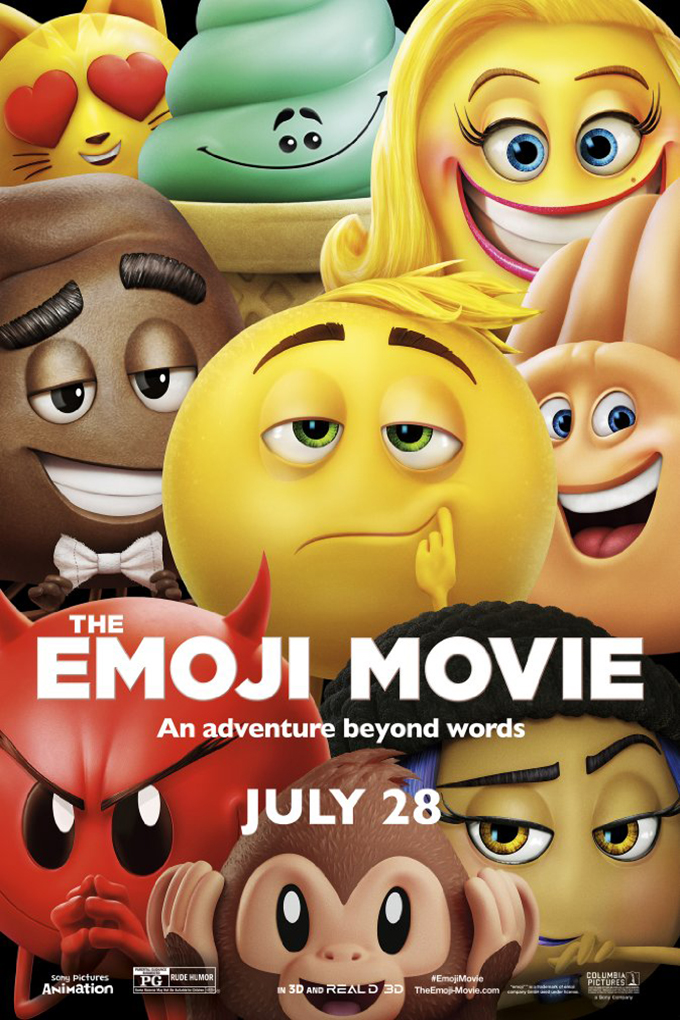 The Emoji Movie  [2017 USA Movie] Animation, Family