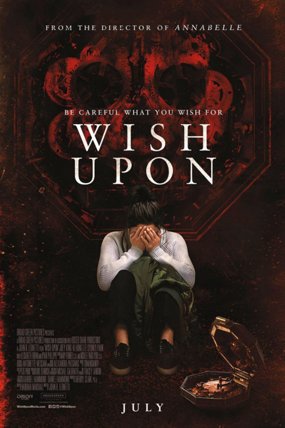 Wish Upon [2017 USA & Canada Movie] Fantasy, Horror, Thriller
