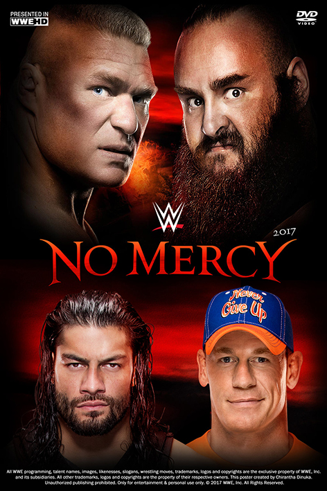 WWE No Mercy 2017 [2017 USA Movie] Show, Sport Aired 24 September 2017