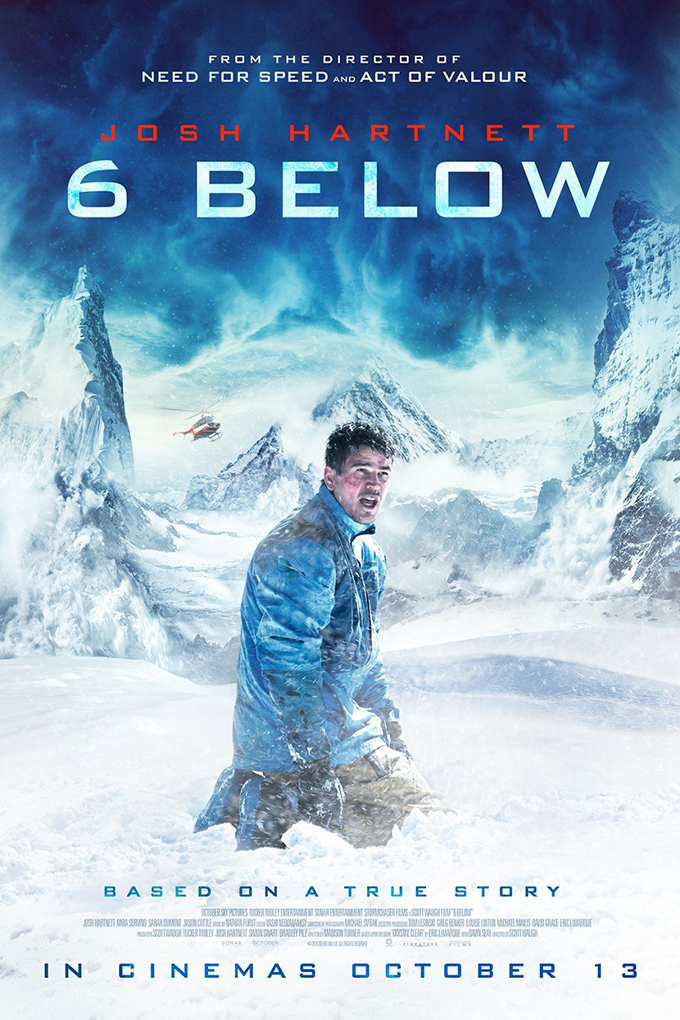 6 Below Miracle on the Mountain [2017 USA Movie] Adventure, Biography, Drama, Thriller, True Story