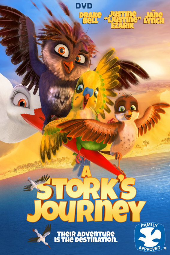 A Stork's Journey [2017 Germany, Belgium, Luxembourg, Norway & USA Mo vie] Animation, Family
