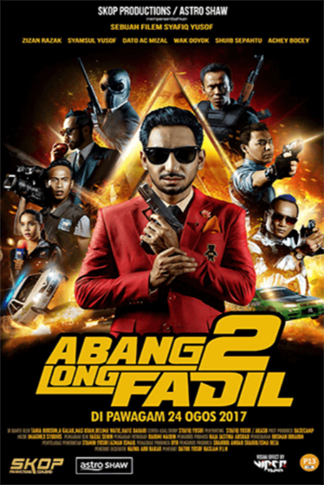 Abang Long Fadil 2 [2017 Malaysia Movie] Action, Comedy