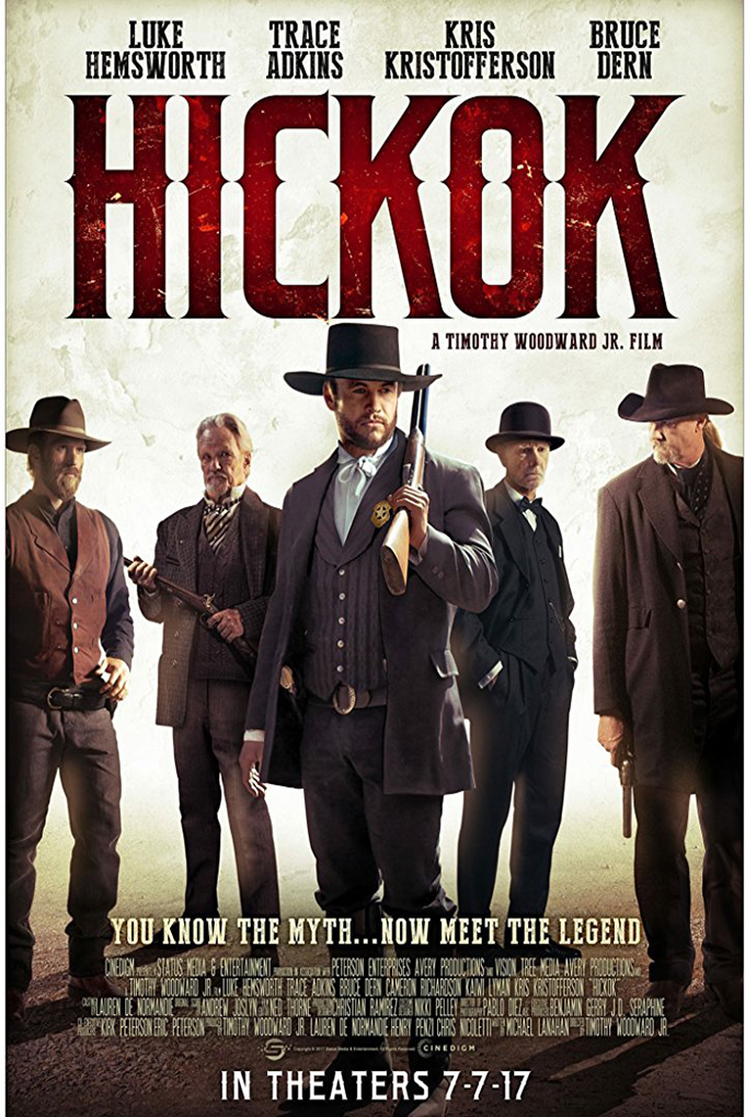 Hickok [2017 USA Movie] Drama, Action, Western