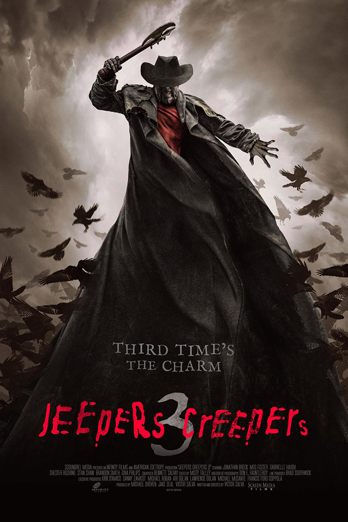 Jeepers Creepers 3 [2017 USA Movie]  Horror, Mystery, Thriller