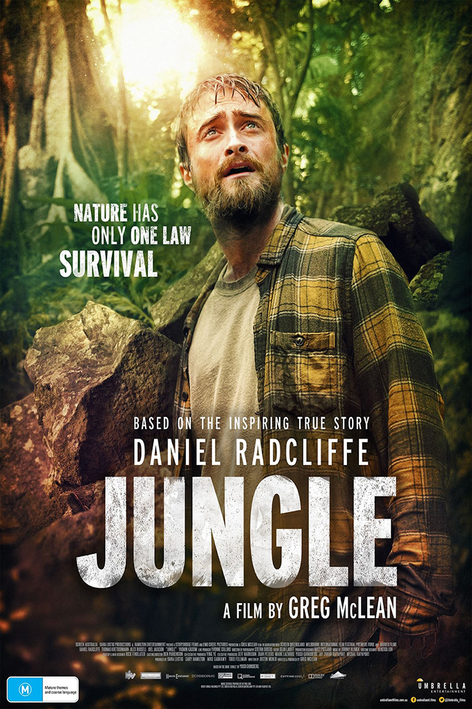 Jungle [2017 Australia & Colombia Movie] Action, Adventure, Drama, True Story