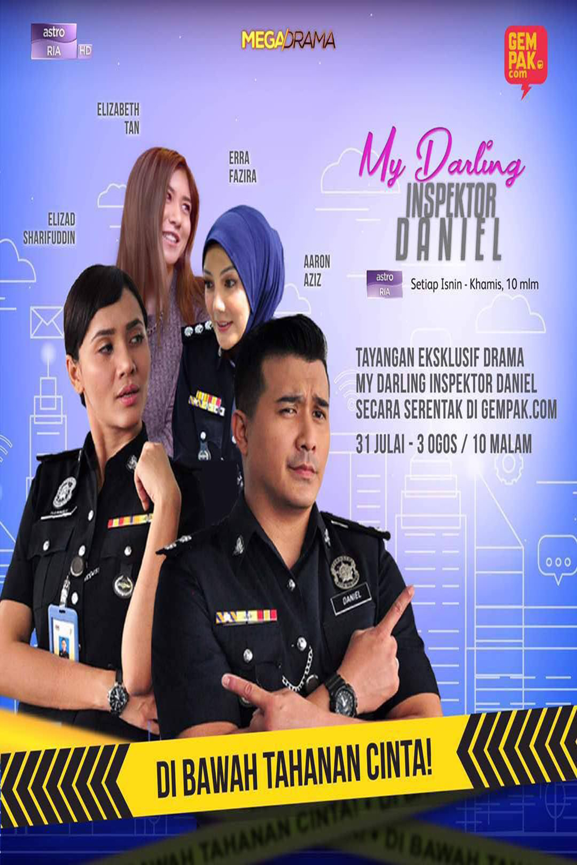 My Darling Insektor Daniel [2017 Malaysia Series] 21 eps END (4)