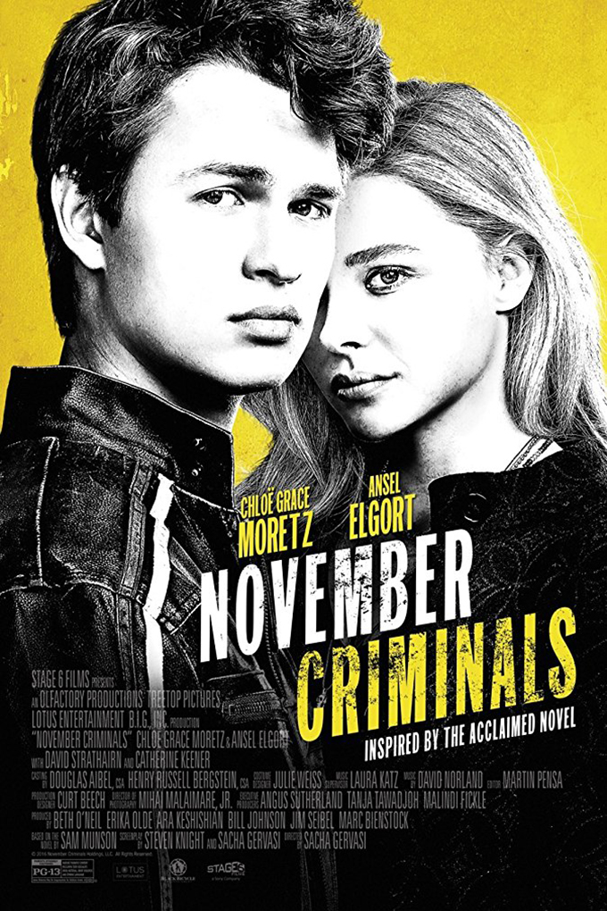 November Criminals [2017 USA Movie] Crime, Drama, Mystery