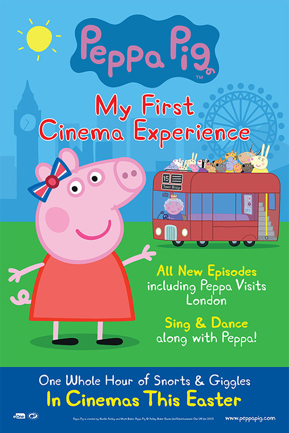 Peppa Pig: My First Cinema Experience [2017 UK Movie] Animation, Family