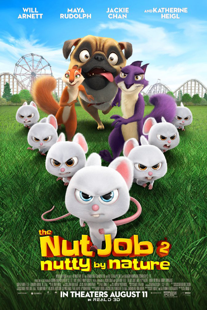 The Nut Job 2: Nutty By Nature [2017 USA, Korea, Canada & China Movie]  Animation, Family