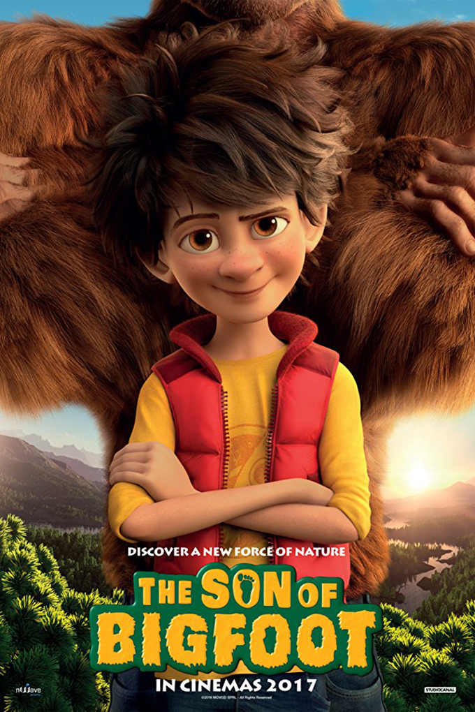 The Son of Bigfoot [2017 Belgium & France Movie] English Animation, Family