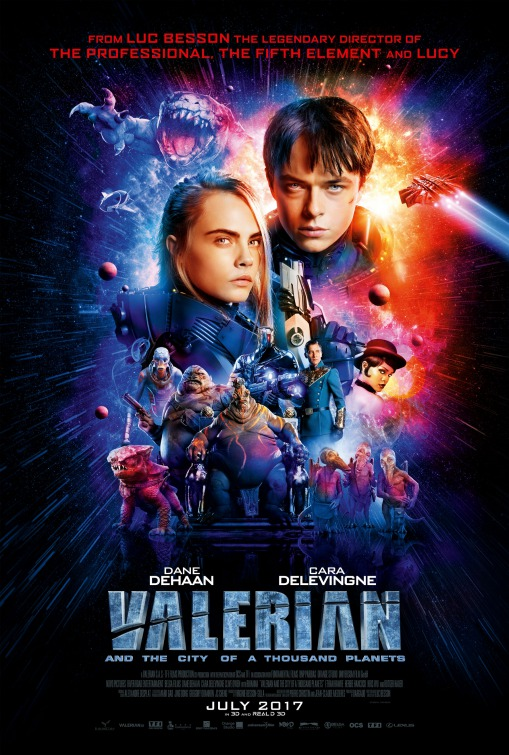 Valerian and the City of a Thousand Planets [2017 USA Movie]  Action, Adventure, Fantasy