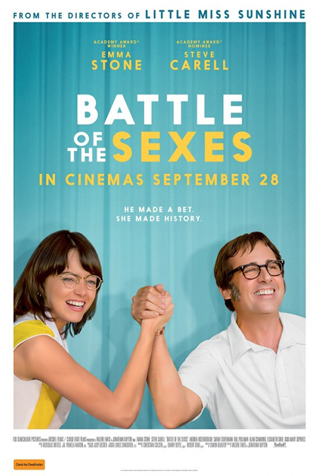Battle of the Sexes [2017 USA & UK Movie] Comedy, Drama, Sport, True Story