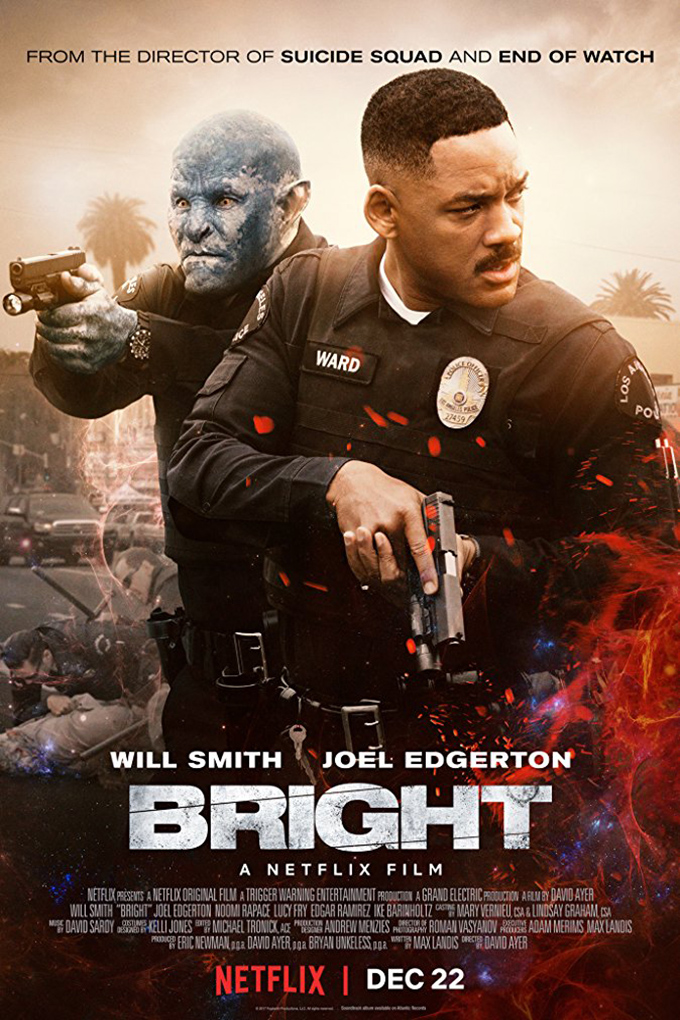 Bright [2017 USA Movie] Action, Fantasy, Sci Fi