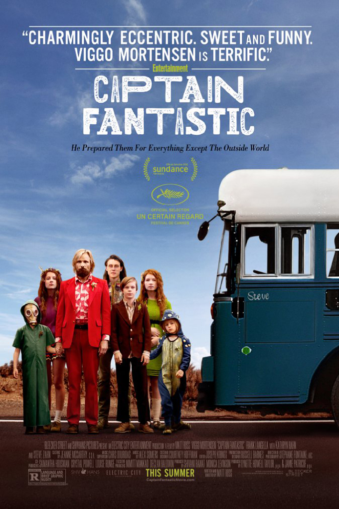 Captain Fantastic [2016 USA Movie] Comedy, Drama