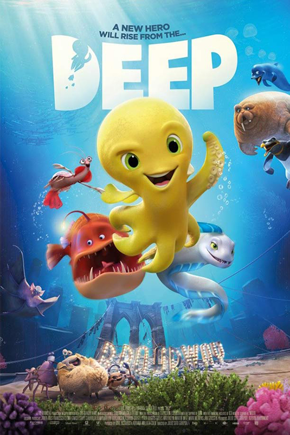 Deep [2017 USA. Belgium, China, UK, Switzerland & Spain Movie] Animation, Family