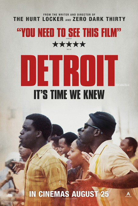 Detroit [2017 USA Movie] Crime, Drama, Thriller, True Story