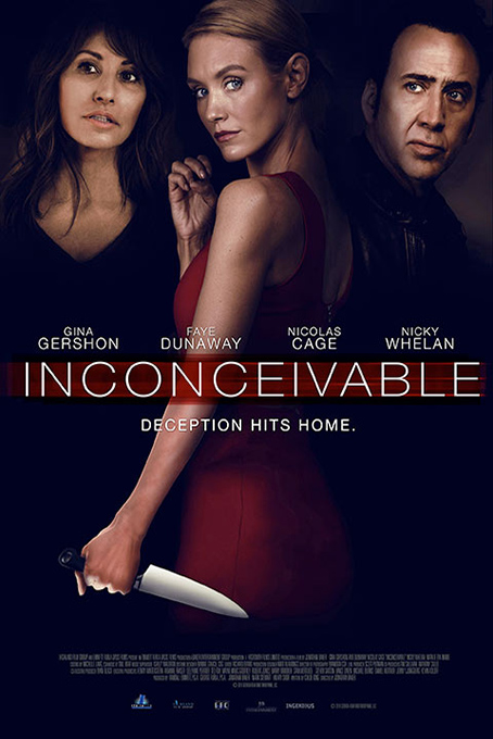 Inconceivable [2017 Canada Movie] Thriller