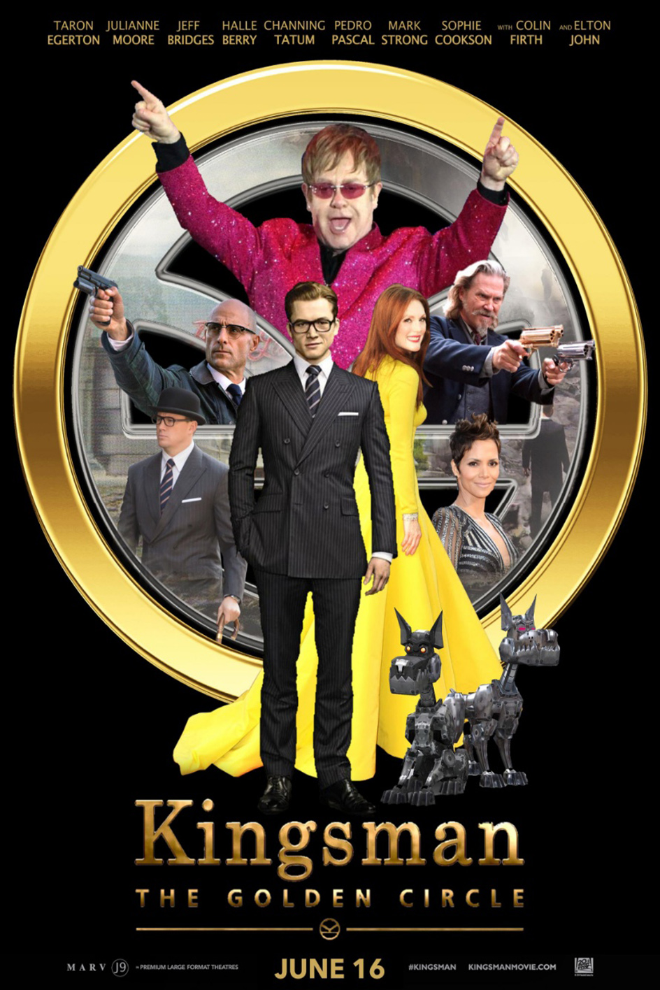 Kingsman The Golden Circle [2017 USA & UK Movie] Action, Adventure, Comedy