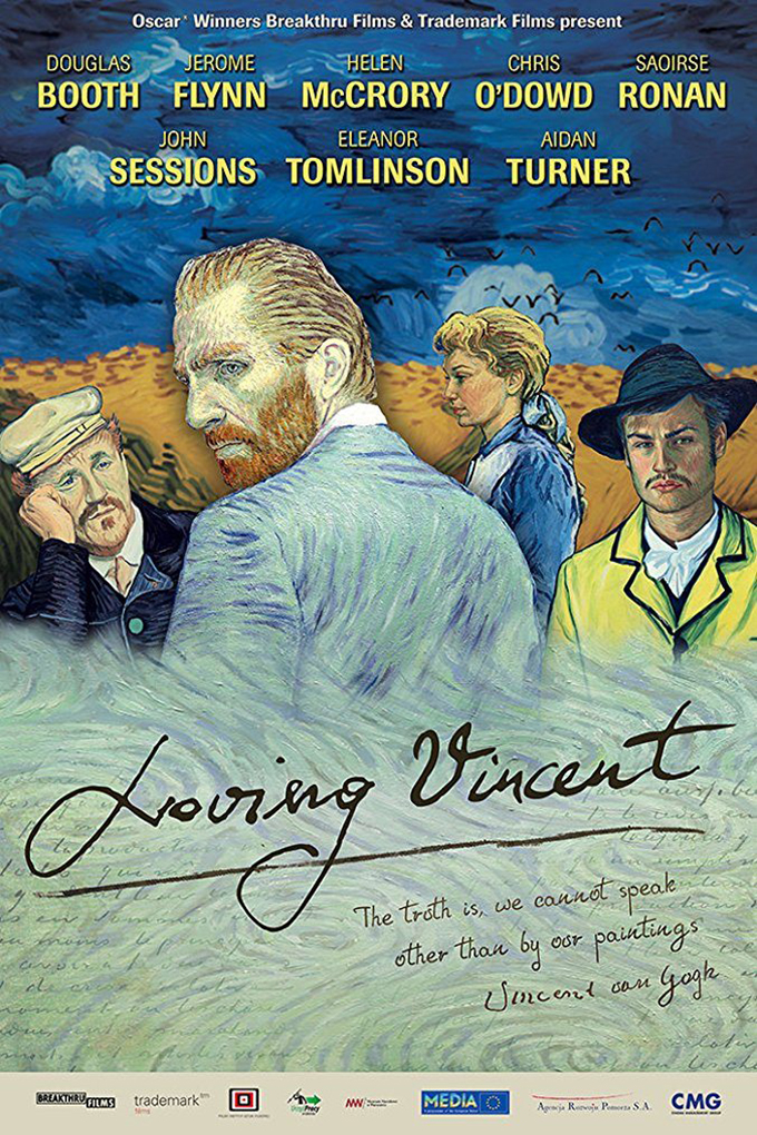 Loving Vincent [2017 UK & Poland Movie] Animation, Crime, Biography, True Story