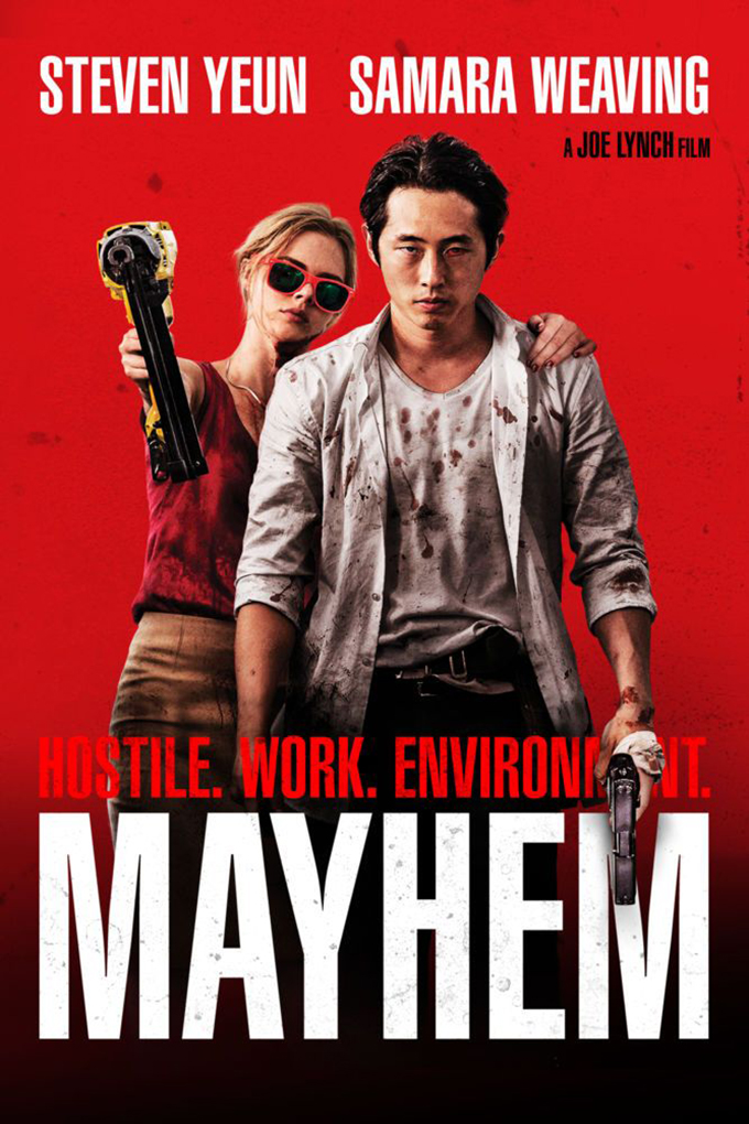 Mayhem [2017 USA Movie] Action, Horror