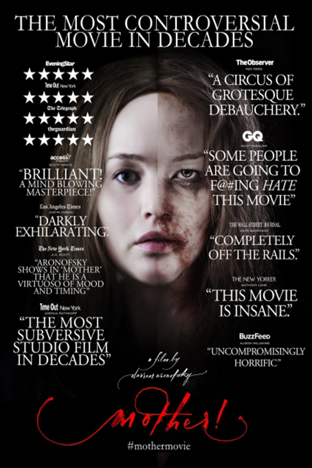 Mother [2017 USA Movie] Drama, Horror, Mystery