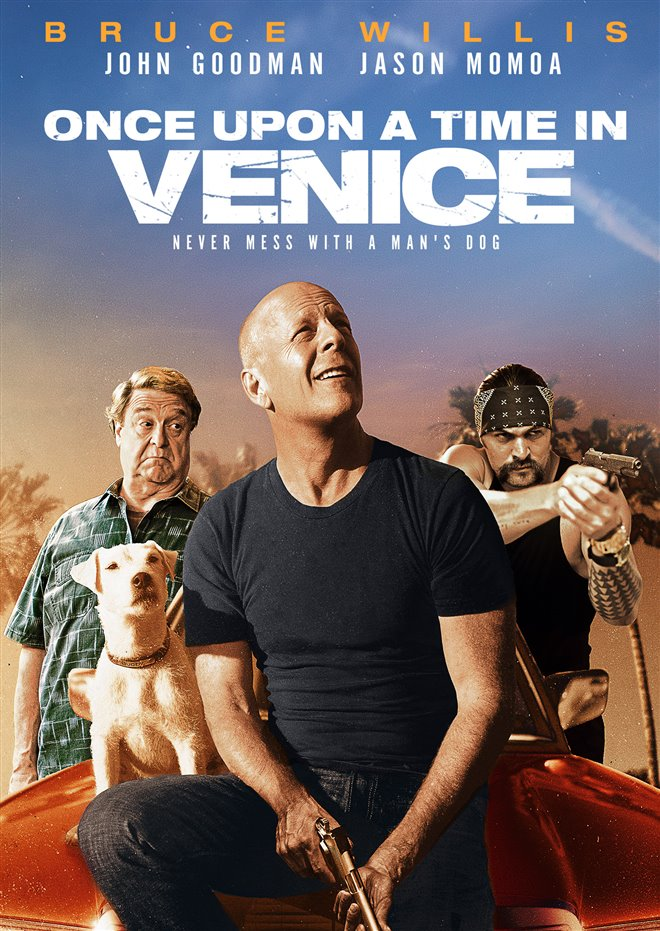Once Upon a Time in Venice [2017 USA Movie] Action, Comedy, Thriller