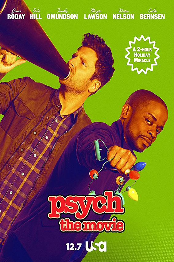 Psych The Movie  [2017 USA Movie] Comedy, Crime, Mystery