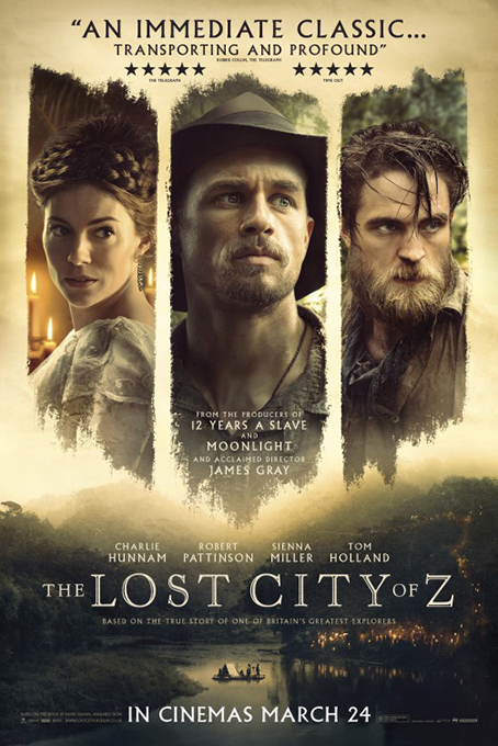 The Lost City of Z [2017 USA Movie] Adventure, Biography, Drama, True Story