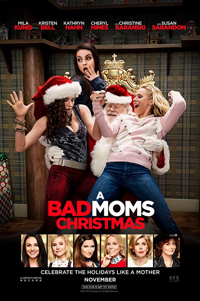 A Bad Moms Christmas [2017 USA & China Movie] Adventure, Comedy