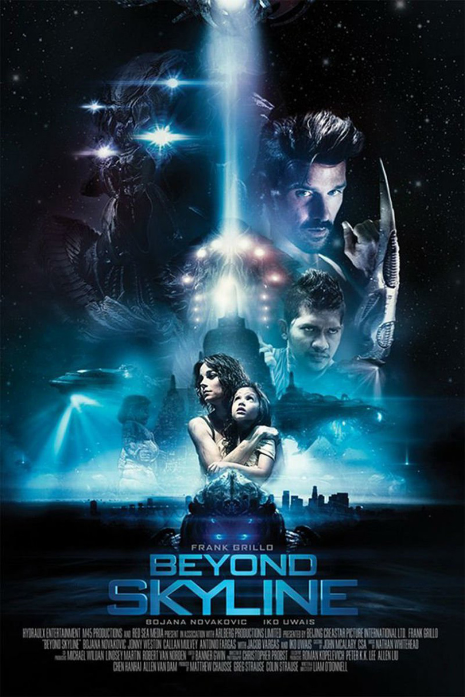 Beyond Skyline [2017 USA, UK, China, Indonesia & Singapore Movie] Action, Adventure, Horror