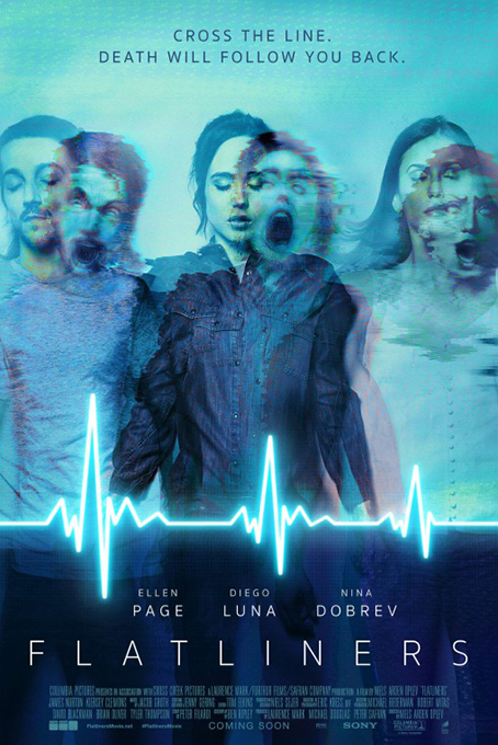 Flatliners [2017 USA & Canada Movie] Drama, Sci Fi, Thriller