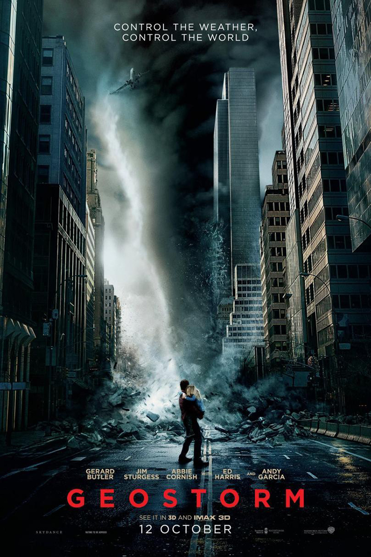 Geostorm [2017 USA Movie] Action, Sci Fi, Thriller