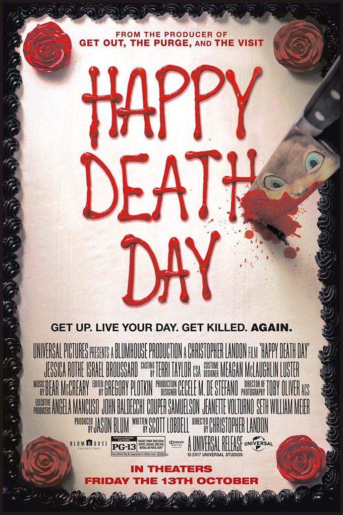Happy Death Day [2017 USA Movie] Horror, Mystery, Thriller