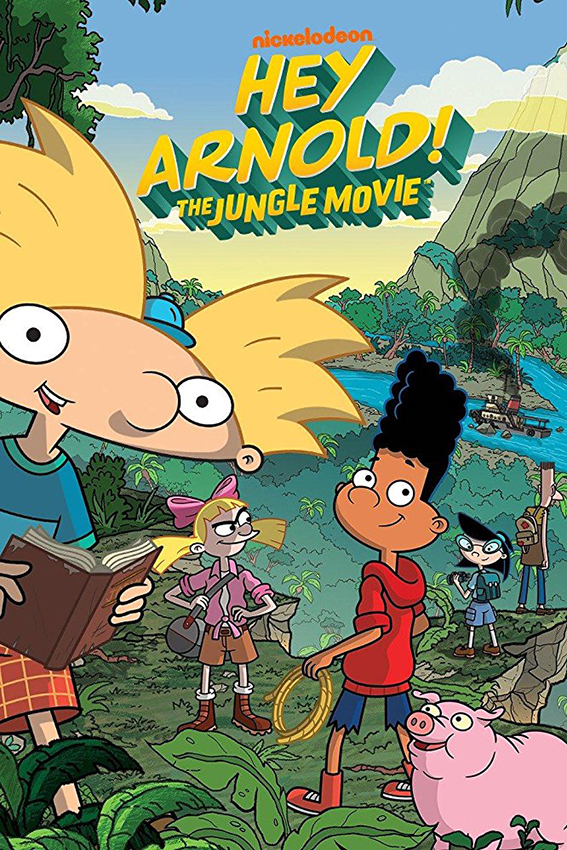 Hey Arnold The Jungle Movie [2017 USA Movie] Animation, Family