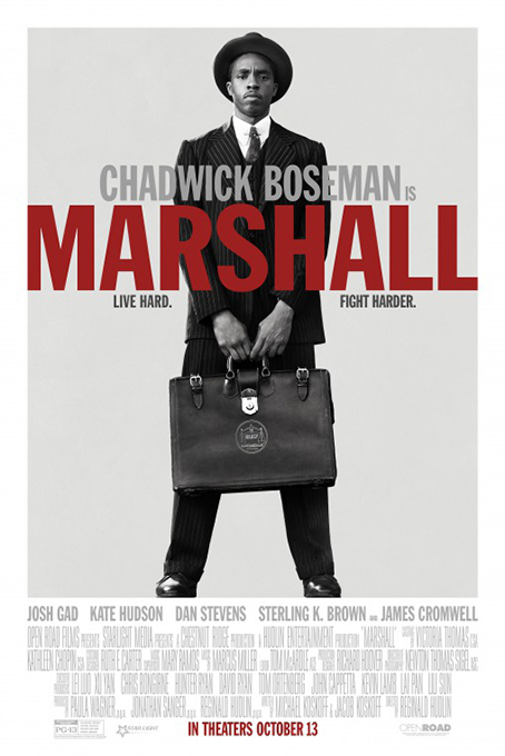 Marshall [2017 USA Movie] Drama, True Story