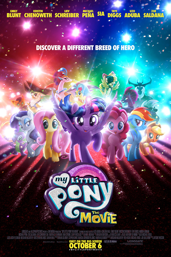My Little Pony The Movie [2017 USA & Canada Movie] Animation, Family