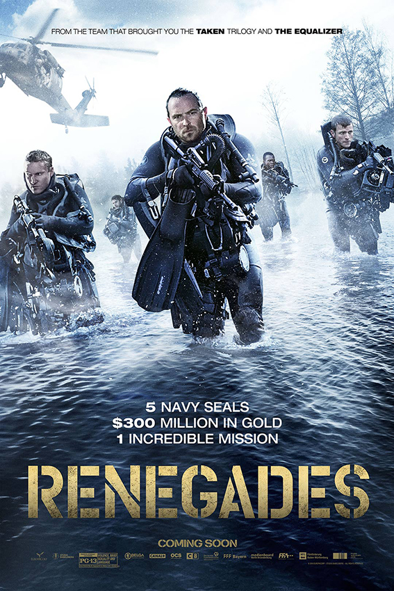 Renegades [2017 France & Germany Movie] Acton, Thriller