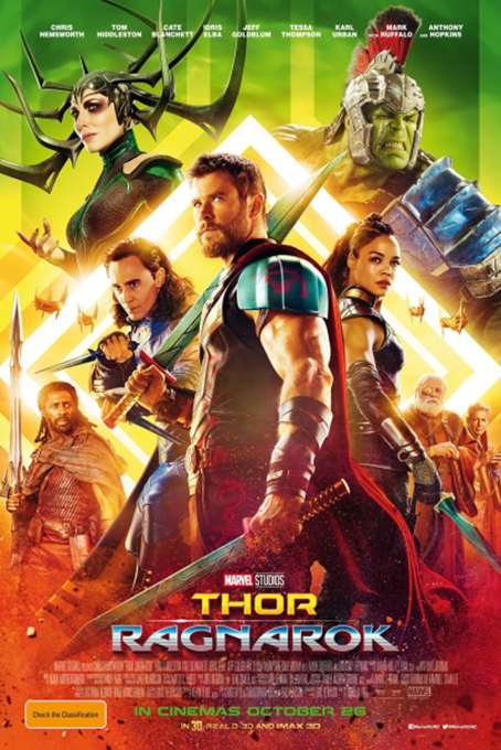 Thor 3: Ragnarok [2017 USA Movie] Action, Adventure, Sci Fi